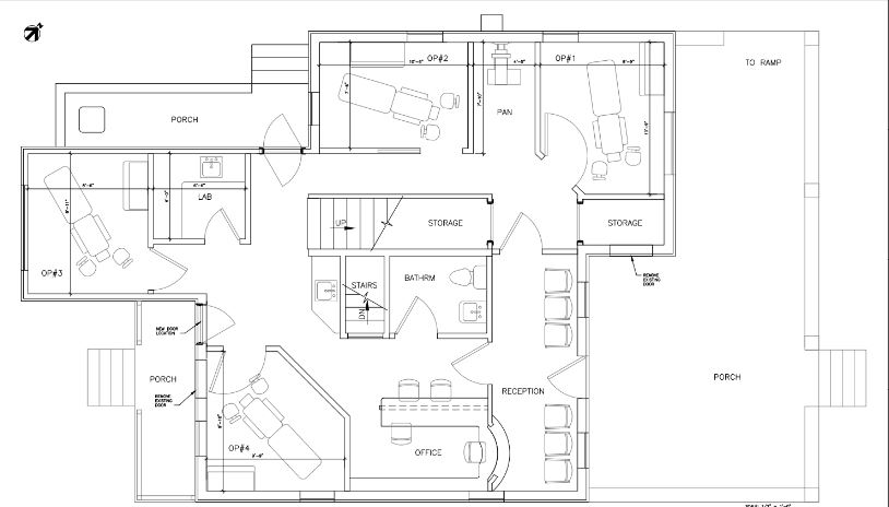 Entry #2: Drafting Floor Plans